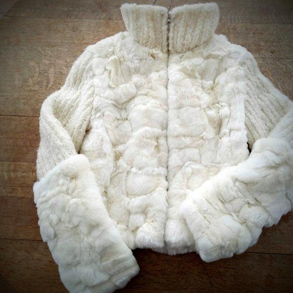 Rabbit Fur Coat